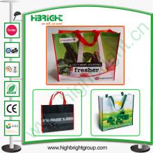 Wiederverwendbare Eco Woven PP laminierte Einkaufstasche