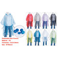 hot sale disposable pe rain poncho
