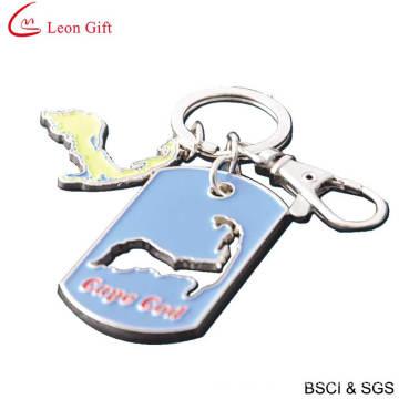 Wholesale Enamel Keychain Dog Tag Keychain (LM1428)