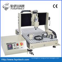 Jade Engraving Machine Flat Bed CNC Lathe