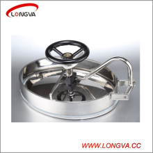 Elliptic Sanitary Stainless Steel Tank Manhole Cover