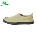 comfort heel blank man canvas shoe