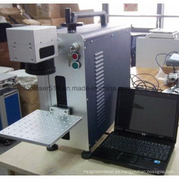 Marcador láser de fibra económica / máquina de marcado láser barata de escritorio