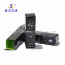 UV покрытие настроить картона косметическая Упаковывая Бумажная Коробка коробки упаковки