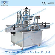 Stand Type Automatic 4 Nozzles Filling Machine for Liquid