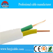 2 * 4мм2 7-жильный провод плоский плоский кабель оболочка медь латунь медь