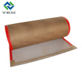 Тефлоновая сетка fibergalss ткань и пояс 4*4 мм коричневого цвета из Китая