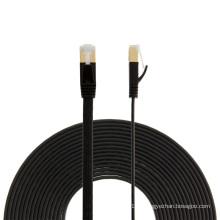 Alta qualidade rj45 blindado Cat6a flat patch cable