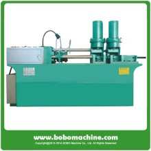anchor bolt shrinking machine for thread rolling