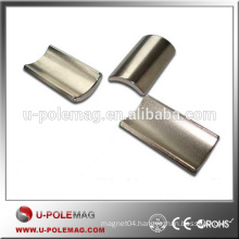 High Quality N45 Neodymium Segment Arc Magnet