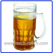 Double Wall Plastic Beer Ice Mug (R-7030)