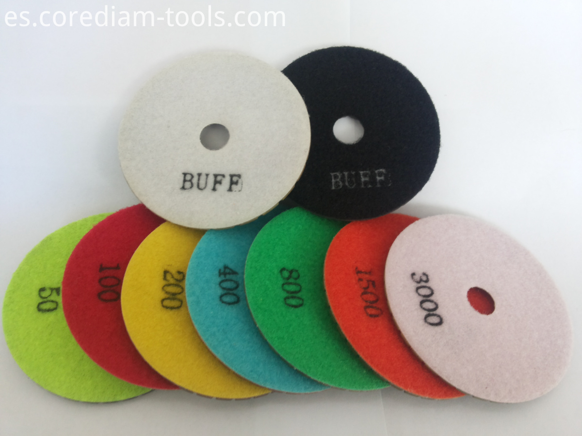 Stone Wet Polishing Pads