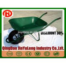 CHINA heißer Verkauf Garten billige Schubkarre WB6400 für den Bau in Südafrika Indien Saudi