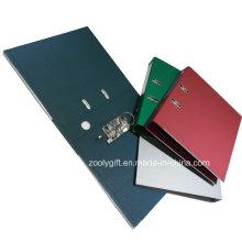 Arquivo de arco de alavanca de papel de mármore de cor sólida de qualidade