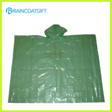 Cheap Clear Poncho de lluvia PE desechable