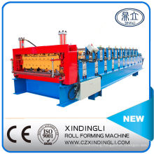 Chinese Latest Style Double Layer Metal Roof Roll Forming Machine
