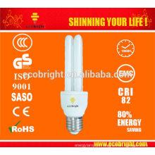 T4 2U 15W luz 10000H CE qualidade de poupança de energia