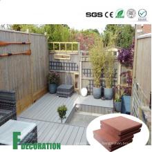 Составная деревянная пластичная смесь WPC Водоустойчивый напольный decking
