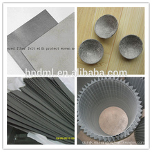 Malla de filtro de fieltro sinterizado de acero inoxidable Micron de suministro de Demalong