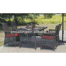 All Weather Wicker High Quality garden treasures furniture Dining Furniture