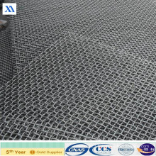 Tissu métallique ondulé d'acier inoxydable (XA-CWM03)