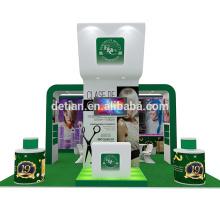 Detian ofrece exposición de stand de moda 20x20 diseño de stand comercial