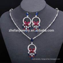 necklace jewelry New products dubai gold plated fashion jewelry set