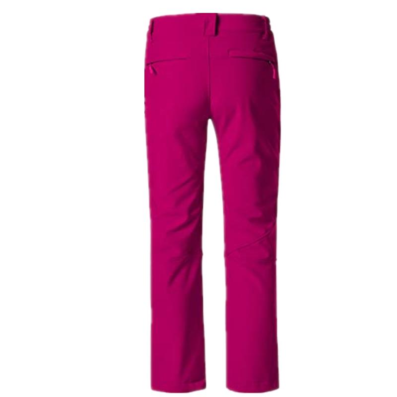 Women S Insulated Ski Pants Softshell Fleece Lined Windproof Overalls