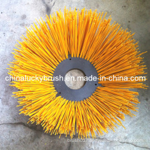 Yellow PP Cup Brush for Road Sweeper Machine (YY-210)