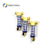 Prefiltro de agua de manantial con medidor de presión pre filtro de agua de retrolavado