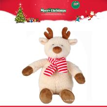 Reno del juguete del regalo de la felpa de la Navidad de la fábrica al por mayor de China