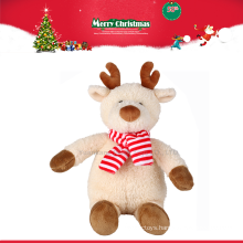 China factory wholesale christmas plush gift toy reindeer