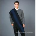 100% Männer Wolle Schal in Solid Color Garn Dye Wolle Schal