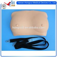 Inspeção de uso e palpação do ISO Simulador de mama