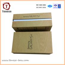 Nueva caja de cartón de papel de diseño de embalaje de teléfono celular