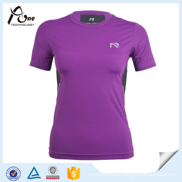 Purple T Shirt Compression Clothing Compression Wear