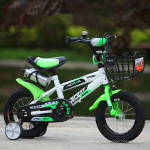 2016 Novos desenhos animados Cartoon Kids bicicleta 4 rodas pode trazer pessoas Preço barato Crianças Bike
