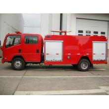 Isuzu Light Truck Chassis 4000L Water Tank Fire Fighting Truck