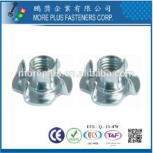 Fabriqué en acier inoxydable en acier inoxydable en cuivre standard ou non standard Nuts 5/16 BARREL 4 PRONG