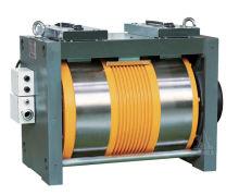 Ø410 Gearless Lif daya tarikan Mesin dengan penukar 3 fasa 400V