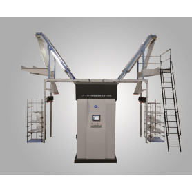 High yarn quality draw texturing air covering machine