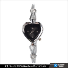 heart-shaped stainless steel chain wrist watch fashion lady