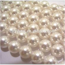 2015 granos vendedores calientes de la perla de los granos de cristal del lampwork de la suposición