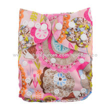 One Pocket Cloth Diaper, Breathable and Reusable TPU