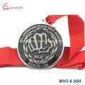 Médaillon prix honneur récompense médaille avec ruban