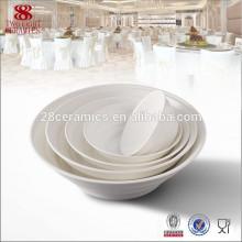 Porcelana de hueso Grandes cuencos redondos de cerámica porcelana fengxi Chaozhou