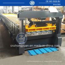 Telhado de aço automático dá forma à máquina