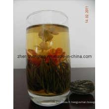Thé fleurissant (Qiu Shui Yi Ren)