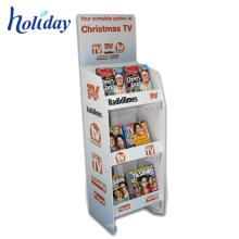 Heißer Verkauf kundengebundener Qualitäts-Speicher-Broschüren-Präsentationsständer, Supermarkt-Einzelhandel farbiges Comic-Buch-Präsentationsständer