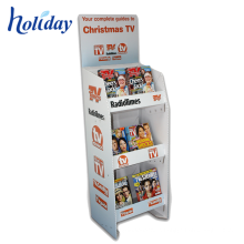 Hot Sale Customized High Quality Store Brochure Display Rack,Supermarket Retail Colored Comic Book Display Rack